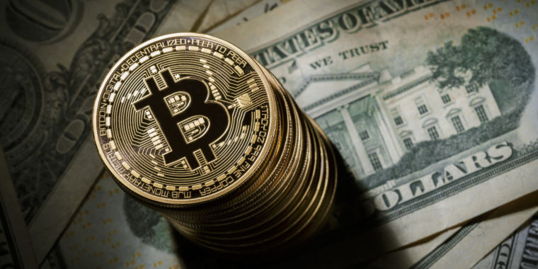 Bitcoin loses 21 percent of its value in broad cryptocurrency rout