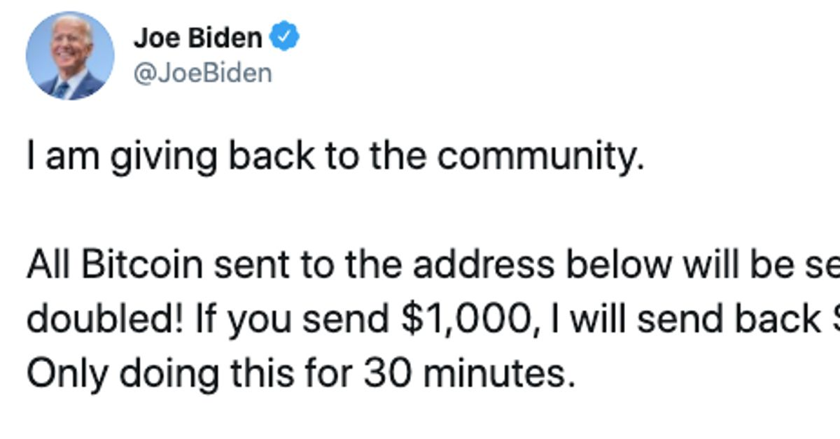Joe Biden, Elon Musk, Bill Gates And Others Apparently Hacked In Bitcoin Scam